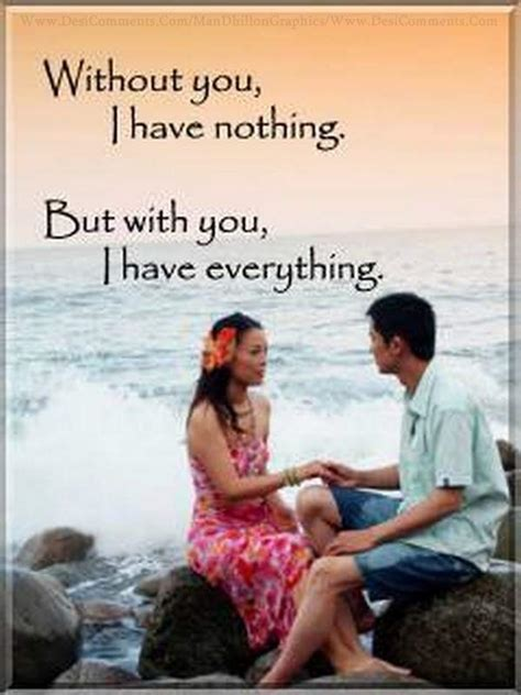Without you I have nothing - DesiComments