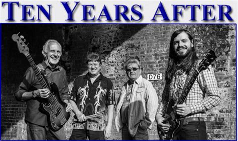 TEN YEARS AFTER - New Line-Up - Tour Dates 2014