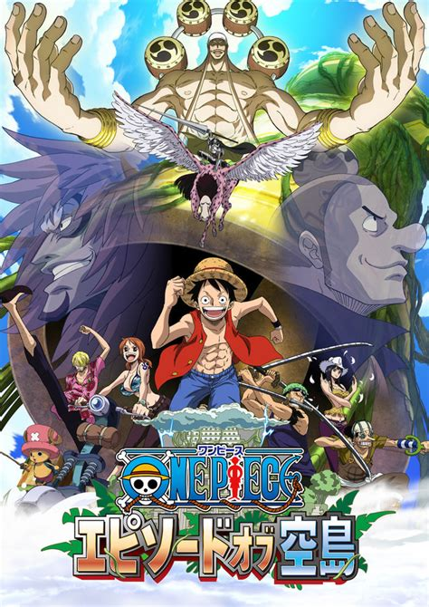 """Crunchyroll - """"One Piece"""" Revisits Skypiea Arc in Upcoming"""