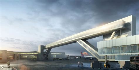 Sea-Tac Airport's New International Arrivals Facility And