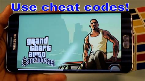 How to use cheat code in GTA San Andreas on Android 2016