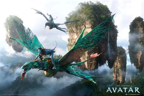 Avatar posters - Avatar Flying poster FP2433 - Panic Posters