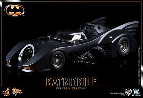'Batman' 1989 Gets a 1/6 Scale Batmobile from Hot Toys