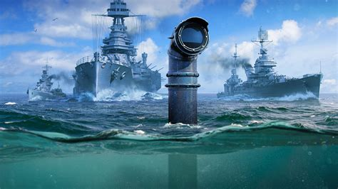 Submarines are coming to Wargaming's World of Warships