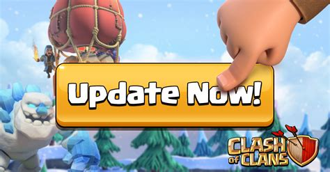 Winter Update Has Arrived, Update Now!   Clash of Clans