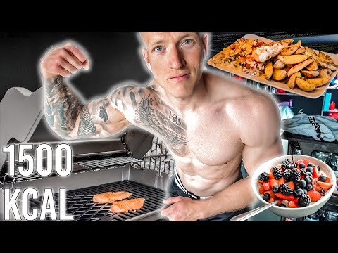What 1500 calories a day looks like (on a vegan diet