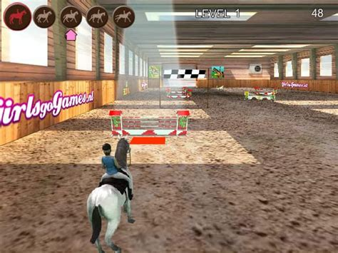 Horse Jumping 3D Spiel FunnyGames
