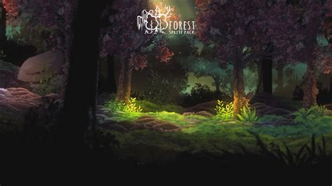 Forest Sprite Pack - A set of high definition modular