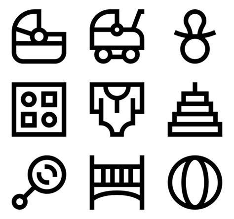 47 parents icon packs - Vector icon packs - SVG, PSD, PNG