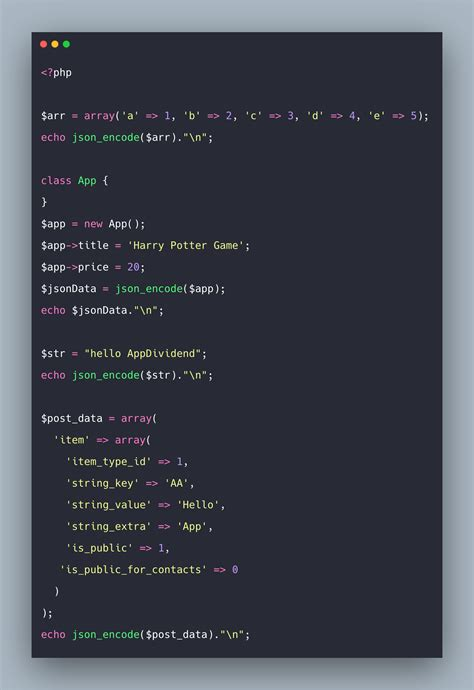 PHP json_encode() | How to Convert PHP Array to JSON