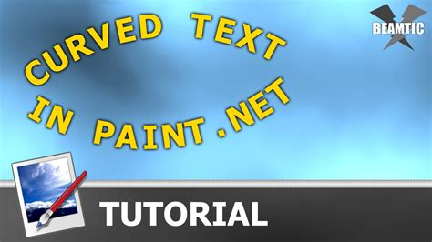Making curved text using the Circle Text plugin in Paint