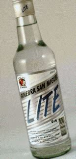 Ginebra San Miguel Lite Gin Reviews and Ratings - Proof66