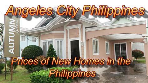 Angeles City Philippines : Prices of New Homes In The