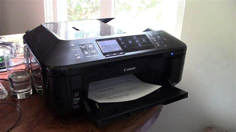 Canon PIXMA MX892 All-in-One Officejet Printer Overview