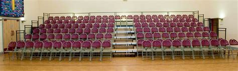 What are the Advantages of Tiered Seating Platforms