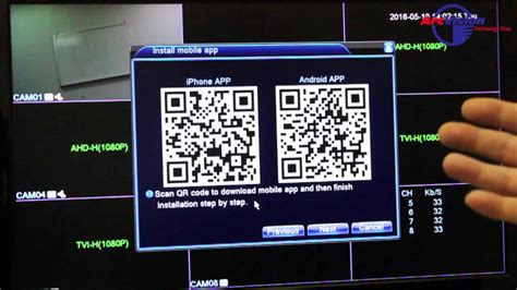 How to Connect to Cloud P2P with QR Code for JFTA01-03