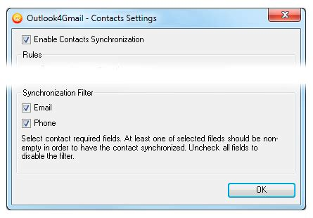 Outlook4Gmail User Manual | Scand