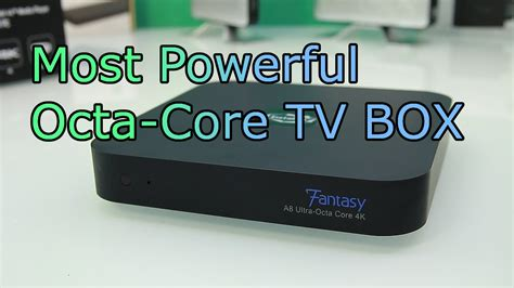 Instabox Fantasy Review - Fastest 4K Android TV Box - Octa