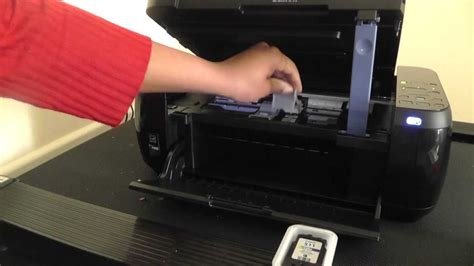 Canon PIXMA MP499-How to replace printer ink cartridges