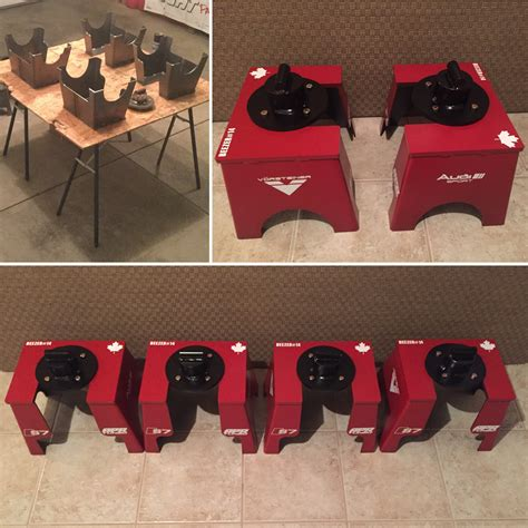 Received custom jack stands from my bro